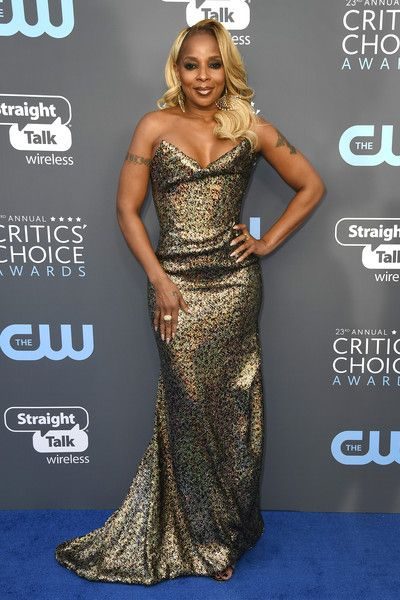 Mary J. Blige - The Most Daring Dresses at the 2018 Critics' Choice Awards - Photos