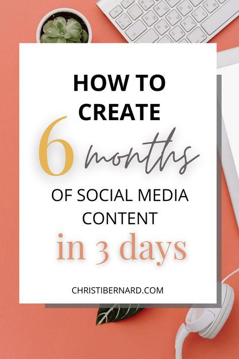 Social Media Content, Social Media Tips, Social Media Marketing, Online Marketing, Digital Marketing, Marketing Tools, Content Marketing, Coaching, Web Design