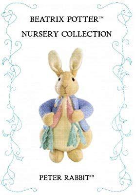 "56 Knitting Pattern Vintage Peter Rabbit Beatrix Potter Toy 7.5/"" LAMINATED"