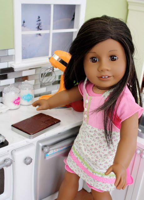 Pippaloo For Dolls American Girl Doll Food Doll Food Hot Cross Buns