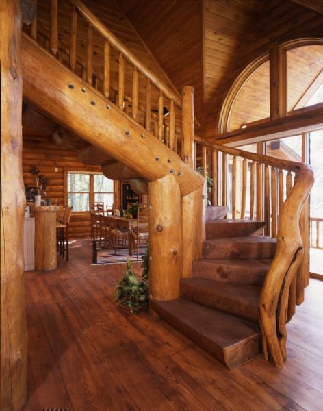 The Most Beautiful Houses In The World: Natural Log Homes, New Zealand |  Whangapoua | Pinterest | Construction, Logs And Cabin
