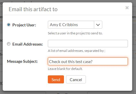 Notifications \ Email Test Management Features SpiraTest - sample test plan