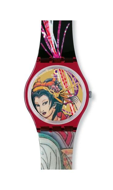 Watches: Black W/ Graffiti On Back, - Swatch® United States - Page 11