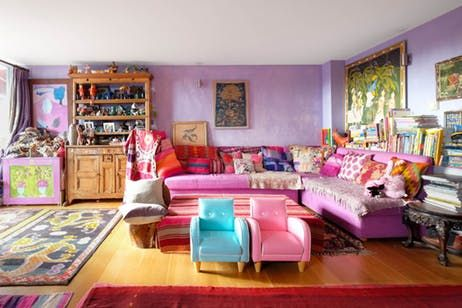 Tour Jewelry Designer Pippa Small\'s Colorful London Home | Kitchen ...