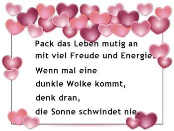 Geburtstags Glueckwunsch Spruch Pack Das Leben Mutig An