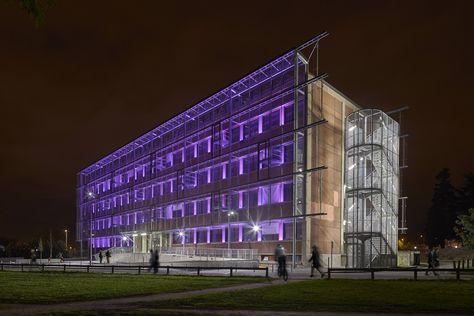 Talence university bordeaux france u lighting products iguzzini