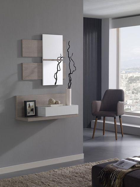 meuble hall du0027entrée Дизайн Pinterest Hall, Vestibule and Tables - meuble vide poche design