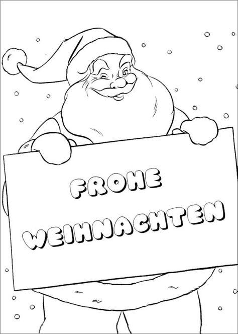 ausmalbilder frohe weihnachten