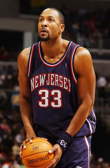 2 time block shot leader Alonzo Mourning - New Jersey Nets b376df930