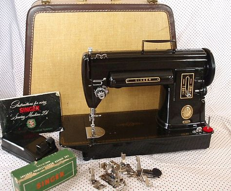 Black Singer 301 Sewing Machine