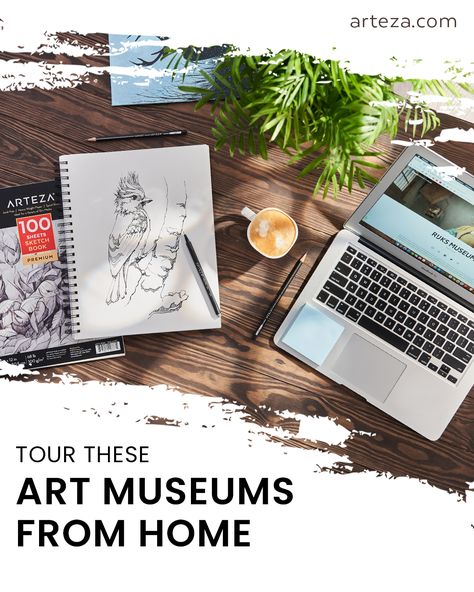 Need something new to do while you're stuck at home? Try taking a virtual tour of some of the most famous museums across the world! From the Lourve to the MET, you'll be able to see all your favorite art pieces without crowds or ever leaving your couch. Check out the blog post for all the details of how to start your virtual tour!