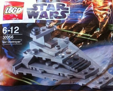 Sealed Set 30056 1st Class! Brand New Lego Star Wars Star Destroyer Polybag