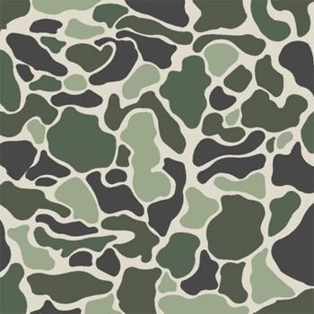 Brown Camouflage Stencil - Stencil only - 10 mil medium-duty - deal of the week