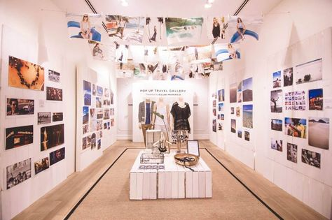 Visit the Club Monaco Pop Up Travel Gallery at Queen's Road Central store!