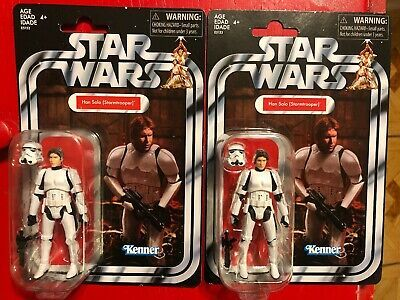 "Hasbro Star Wars The Vintage Collection 3.75/"" Han Solo Stormtrooper VC143 Case"