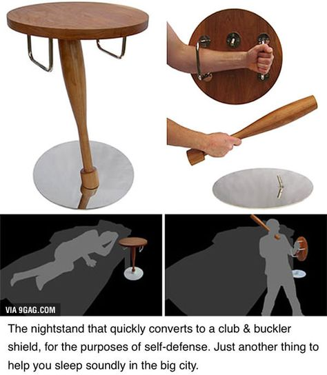 Forget about the part of this graphic which shows this as a bedside table. I think the initial concept was to ward off zombies. Zombies are lame, get over them. This table should be in bars, the…