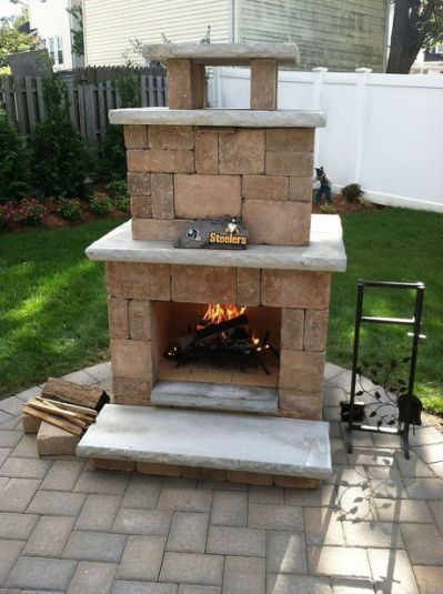 Ten Cool Things You Can Do With With Images Outdoor Fireplace