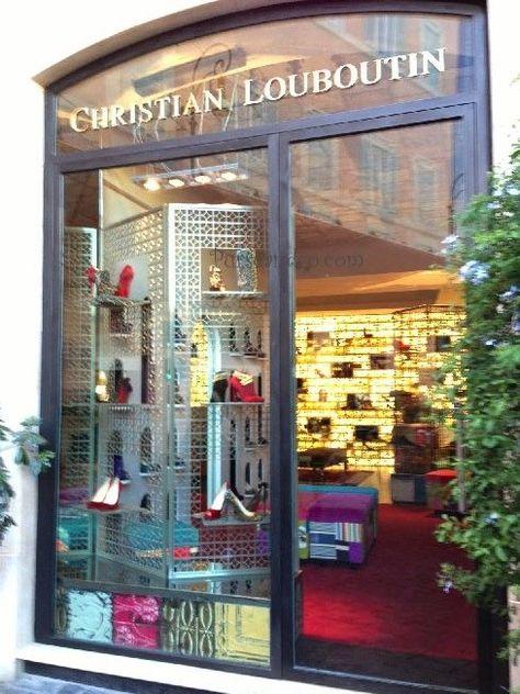 CHRISTIAN LOUBOUTIN ROMA Piazza San Lorenzo in Lucina, | PIN ...