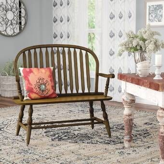 Sylvere Wood Bench In 2021 Wood Bench Furniture Upholstered Bench