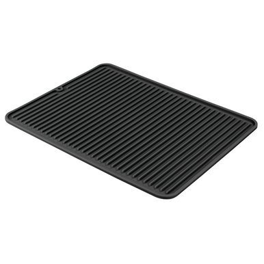 Mdesign Large Silicone Kitchen Counter Drying Mat Protector Stone
