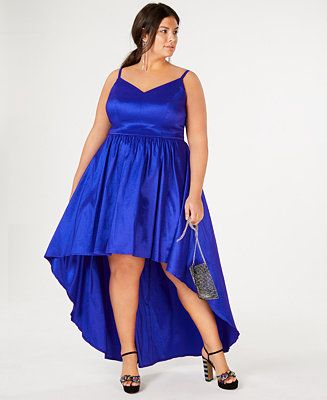 B. Darlin Trendy Plus Size High-Low Dress | Dresses with ...
