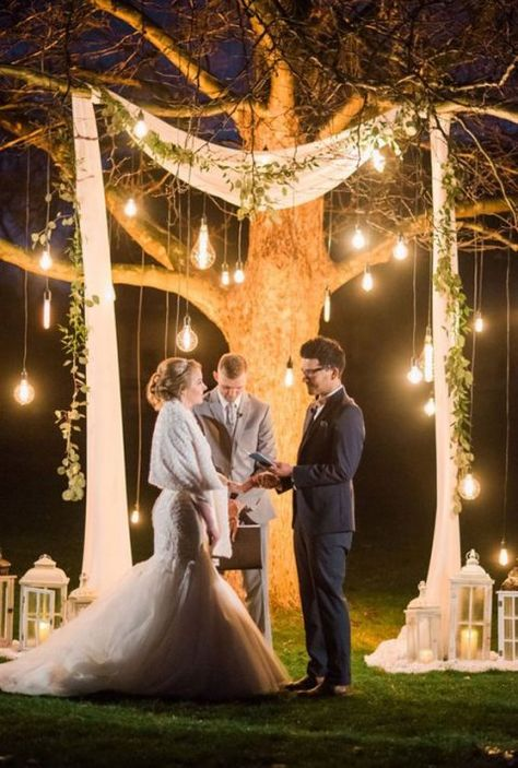 If you have an outdoor ceremony and there are some trees around, why not incorporate them into your wedding decor? One of the trends that are gaining ...