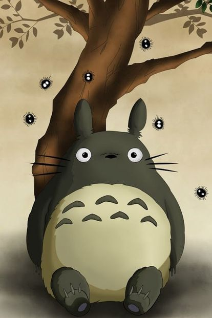 Pin By Mayu On かわいい My Neighbor Totoro Totoro Ios Wallpapers