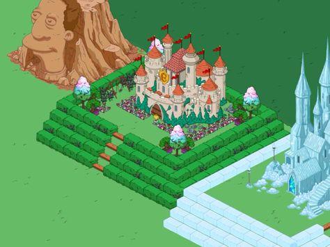 Castello di Equalia - palazzo di ghiaccio