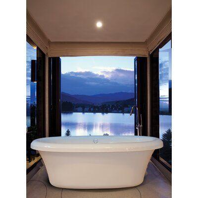 Hydro Massage Products Bello 72 X 39 Freestanding Soaking