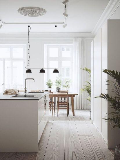 Fabulous Scandinavian Kitchen Design Interior Of The All White And Beautiful Tiny Modern Kitchen Interiors Scandinavian Kitchen Design Interior Design Kitchen