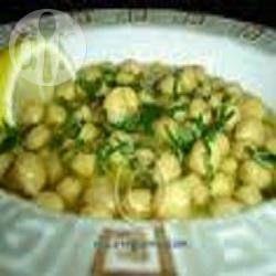 Foto de receta: Sopa griega de garbanzos