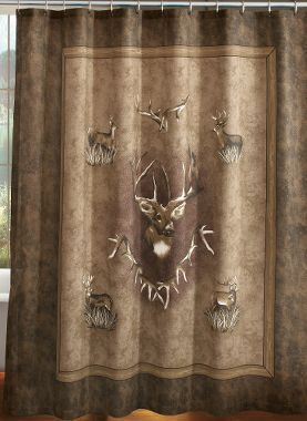 Perfect HORSE INSTEAD OF DEER ON TAN MUSLIN    Cabelau0027s: Cabelau0027s Whitetail Ridge Shower  Curtain | For The Home | Pinterest | House, Lodge Decor And Bath Ideas