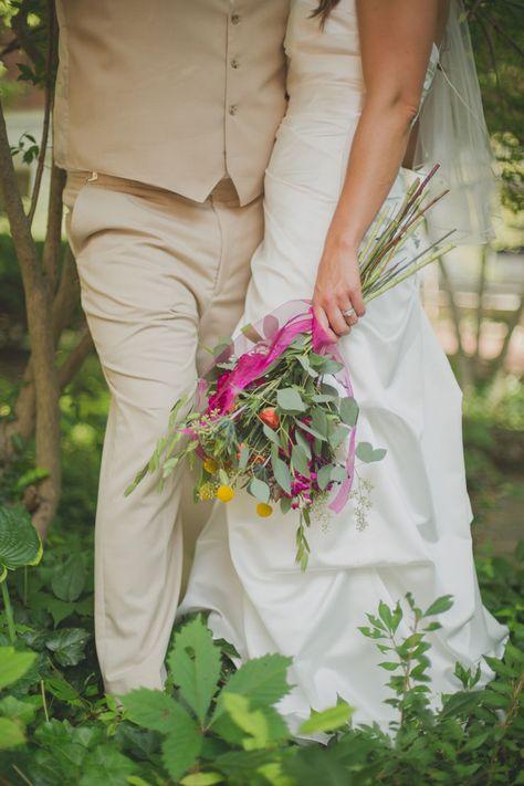 Ohio University Wedding in The College Green