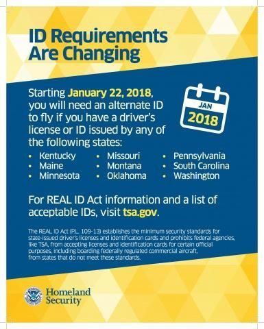 Federal Government Blinks On Real Id Your Drivers License Will Be
