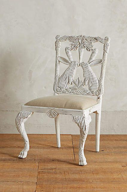 Cool Handcarved Menagerie Rabbit Dining Chair Decor In 2019 Unemploymentrelief Wooden Chair Designs For Living Room Unemploymentrelieforg