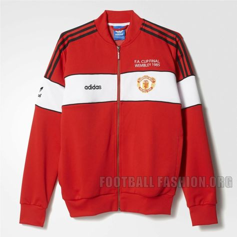 8b82f335a Manchester United x adidas Originals 1985 FA Cup Final Collection ...