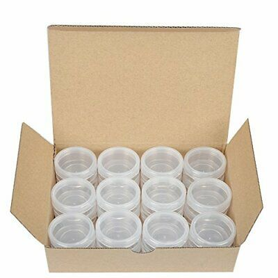 Advertisement Starside 24 Pack Clear 10 Gram 10g Plastic Pot 10 Gram 24 Pack Clear Cream Eyeshadow Plastic Pots