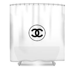 Coco Chanel Shower Curtain For Sale By Tres Chic Chanel Room