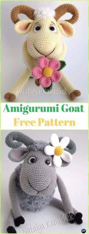 Crocheted sheep pattern | 763x290