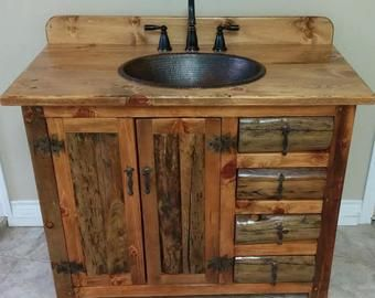 Rustic Log Bathroom Vanity Ms1373b 25 Bathroom Vanity With