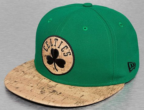 Boston Celtics Cork 59Fifty Fitted Baseball Cap by NEW ERA x NBA ... c75b7b02864