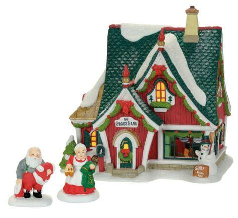 Dept 56 North Pole Village Santa/'s North Pole Workshop 4056663 NIB