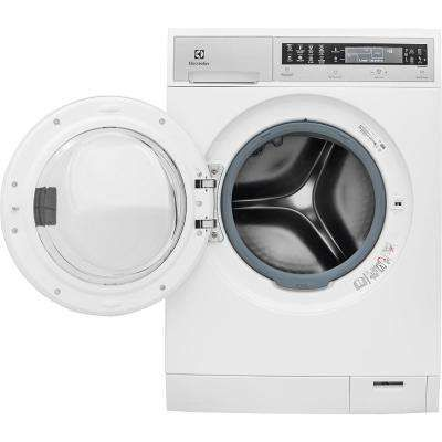 Iq Touch 24 In W 2 4 Cu Ft High Efficiency Front Load Washer With Steam In White Energy Star Front Load Washer Front Load