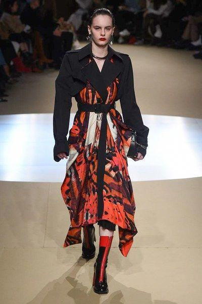 The complete Alexander McQueen Fall 2018 Ready-to-Wear