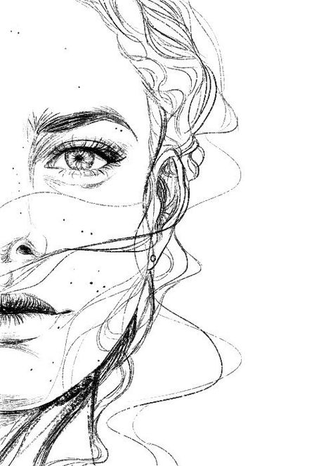 Custom Portrait Sketch Personalised Drawing from Photo   Etsy