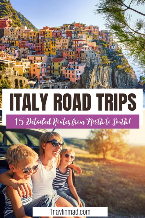 15 Unique Italian Road Trips To Slow Travel North to South — Travlinmad Slow Travel Blog