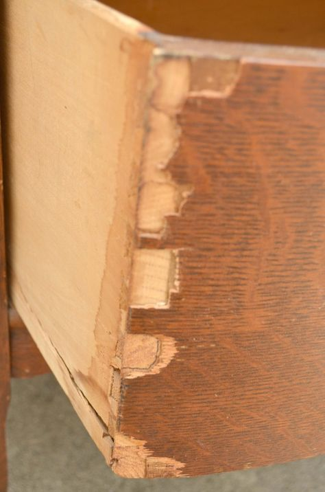 Fix Chipped Veneer The Easy Way Laminate Furniture