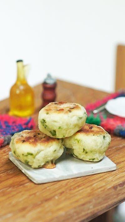 Mini Scones De Queso Y Verdeo Receta Recetas Para Cocinar Recetas Con Pocos Ingredientes Recetas De Comida