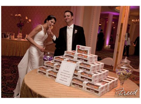 Krispy Kreme Doughnut Favors Wedding Ideas Pinterest And