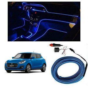 Maruti Suzuki Swift 2019 Car Dashboard 5m Car Interior Light Blue
